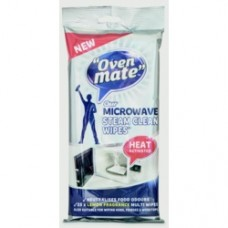 OVEN MATE MICROWAVE CLEAN WIPES