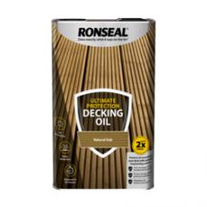 RONSEAL ULTIMATE DECKING OIL NATURAL OAK 5 LITRE
