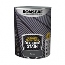 RONSEAL ULTIMATE DECKING STAIN CHARCOAL 5 LITRE