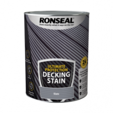 RONSEAL ULTIMATE DECKING STAIN SLATE 5 LITRE