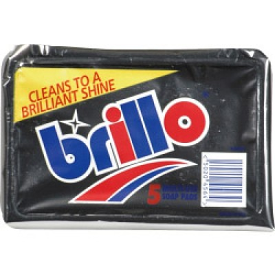 BRILLO PADS PACK 5